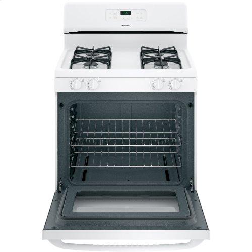 "Hotpoint® 30"" Free-Standing Standard Clean Gas Range"