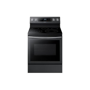 5.9 cu. ft. Freestanding Electric Range with True Convection in Black Stainless Steel Product Image