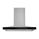 """Lustre Stainless 36"""" Pyramid Style Island Mount Canopy Hood Product Image"""