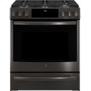 "GE Profile™ 30"" Slide-In Front-Control Gas Range Product Image"