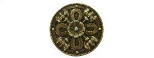 Celtic Shield - Antique Brass Product Image