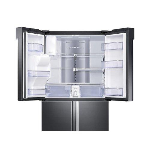 28 cu. ft. Family Hub 4-Door Flex Refrigerator in Black Stainless Steel