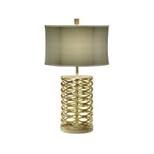 Gilded Interlaced Iron Table Lamp