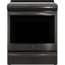 "GE Profile™ 30"" Smart Slide-In Front-Control Induction and Convection Range"