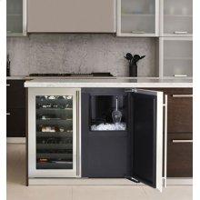 "Stainless Right-hand, with pump 36"" Custom Refrigerator / Ice Machine"