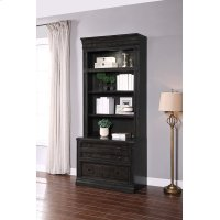 WASHINGTON HEIGHTS 2 Drawer Lateral File and Hutch Product Image