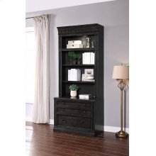 WASHINGTON HEIGHTS 2 Drawer Lateral File and Hutch