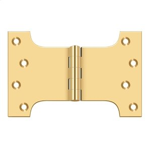 """4"""" x 6"""" Hinge - PVD Polished Brass Product Image"""