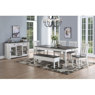 Joanna Two Tone Dining Table Set