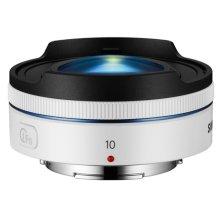 10mm f3.5 Fisheye Lens (White)