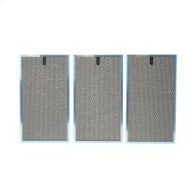 Charcoal Odor/Grease Filters, Set of 3