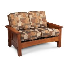 McCoy Loveseat, Fabric Cushion Seat