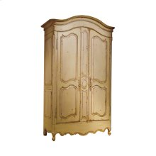 Luberon Armoire with Adjustable Interior Shelves
