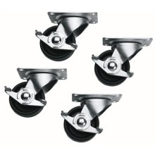 Casters, Slim 5 Series, Locking