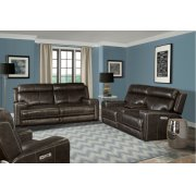 Glacier Graphite Power Reclining Collection Product Image