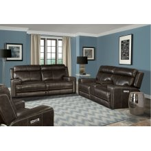 Glacier Graphite Power Reclining Collection