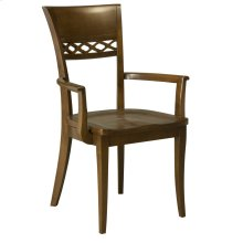 Model 25 Arm Chair Wood Seat