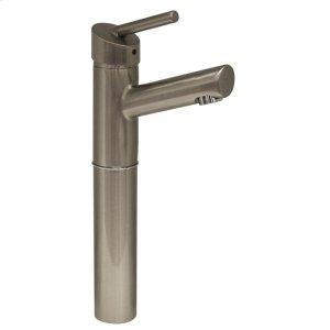 "Centurion single-hole, single-lever elevated lavatory faucet with a 7"" extension and a short spout. Product Image"