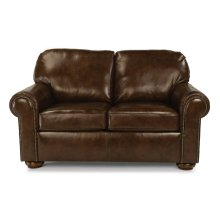 Preston Leather Loveseat