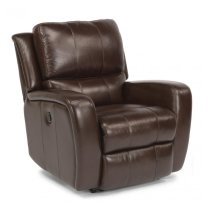 Flexsteel Hammond Leather Power Gliding Recliner (DISCONTINUED)