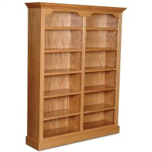 "Classic Tall Category I Bookcase, Classic Tall Category I Bookcase, 5-Adjustable Shelves, 64""w"