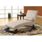 CHAISE LOUNGER - TAUPE VELVET FABRIC Product Image