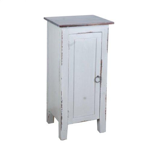 CC-TAB1032LD-AGOJ  Cottage 1 Door Accent Cabinet  Antique Gray