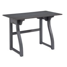 French Grey Small Writing Desk