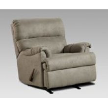 Sensations Gray Chaise Rocker Recliner