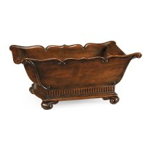Mahogany Trough Planter