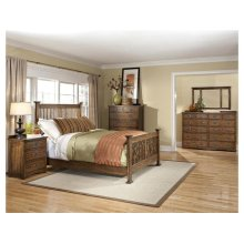 California King Slat Bed, Standard