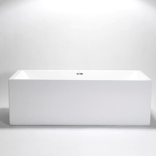 "box freestanding or alcove acrylic bathtub 71""x31 1/2""x23 1/2"""