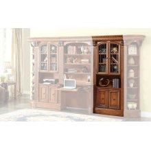 Huntington 32 in. Glass Door Cabinet