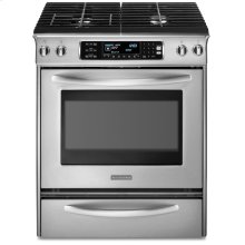 30-Inch 4-Burner Gas Slide-In Range, Architect® Series - Stainless Steel