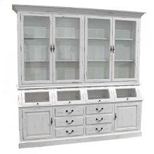 Large Showcase- White