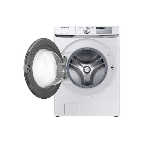 4.5 cu. ft. Smart Front Load Washer with Super Speed in White