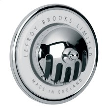 """Lefroy Brooks """"grated"""" overflow for use with LB 1377"""