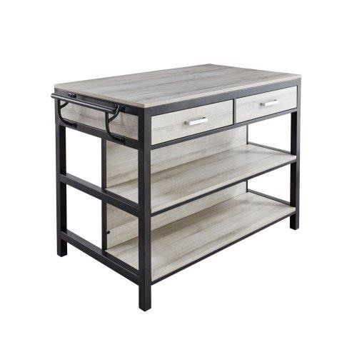 Carson Counter Kitchen Table 55'' x 27.5'' xH36''
