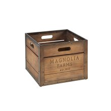Magnolia Farms Square Produce Crate - Short
