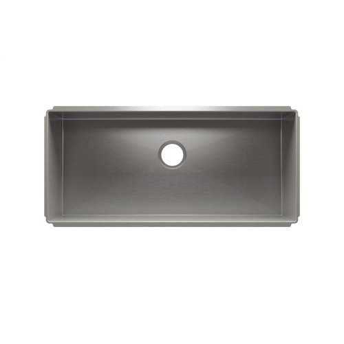"J7® 003928 - undermount stainless steel Kitchen sink , 36"" × 16"" × 10"""