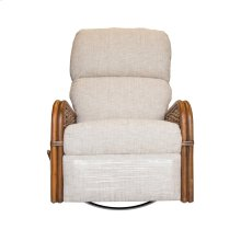 Recliner, Recliner Arms Available in Royal Oak or Grey Wash Finish.
