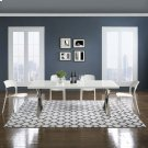 Lida Moroccan Trellis 8x10 Area Rug in Ivory and Charcoal Product Image
