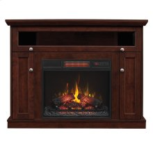Windsor TV Stand with Electric Fireplace Wall or Corner
