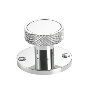 """1 3/4"""" round backplate with decorative screws Product Image"""