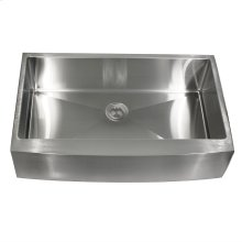 30 Inch Pro Series Single Bowl Farmhouse Apron Front Stainless Steel Kitchen Sink