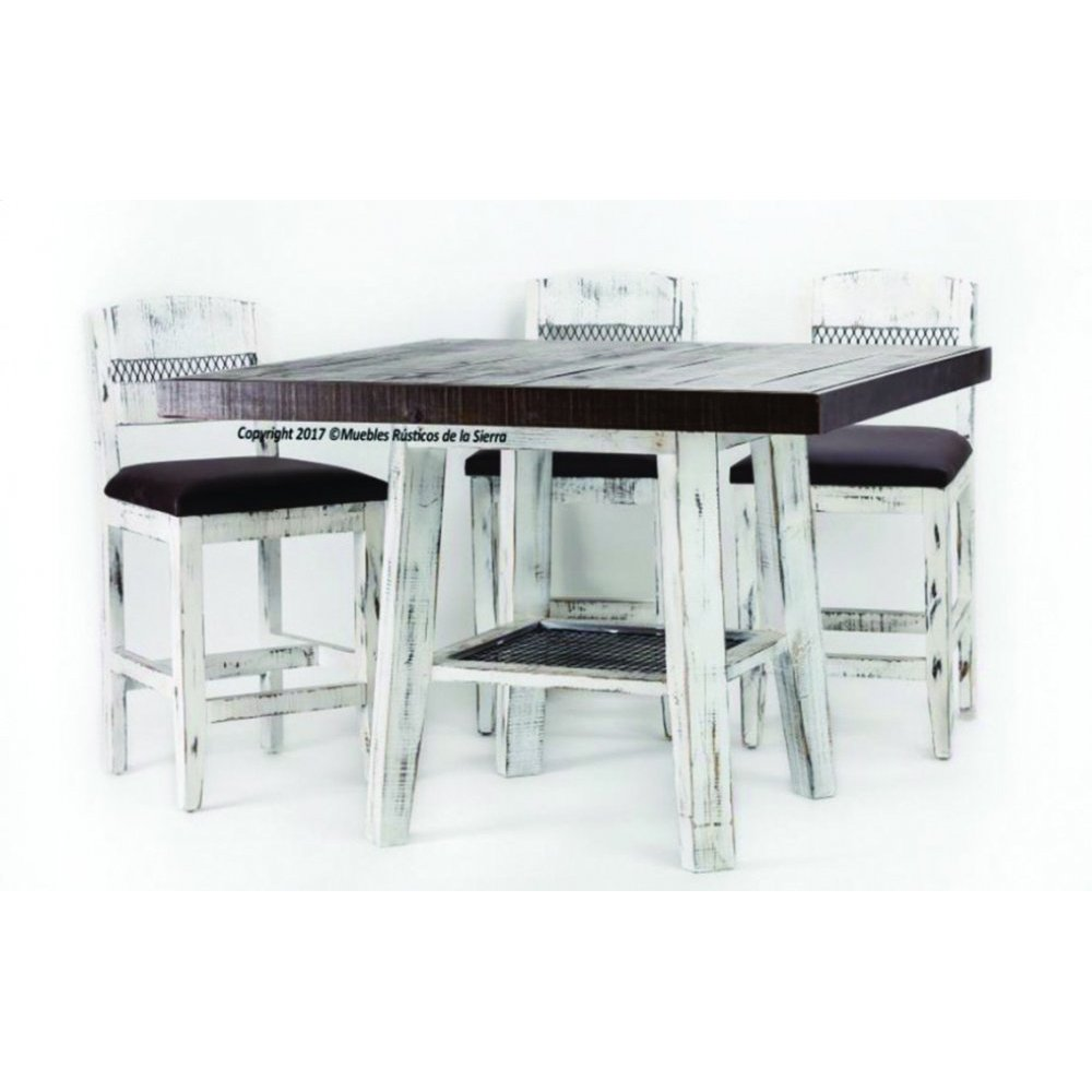 Casa Blanca Short Counter Table