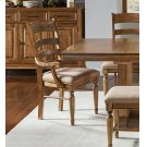 LADDERBACK UPHOLSTERED ARM CHAIR Product Image