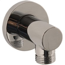 RND Shower Outlet Elbow - Brushed Nickel