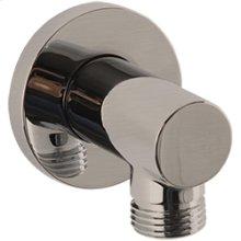 RND Shower Outlet Elbow - Brushed Nickel