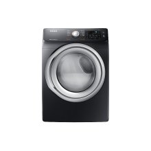 7.5 cu. ft. Gas Dryer with Steam in Black Stainless Steel